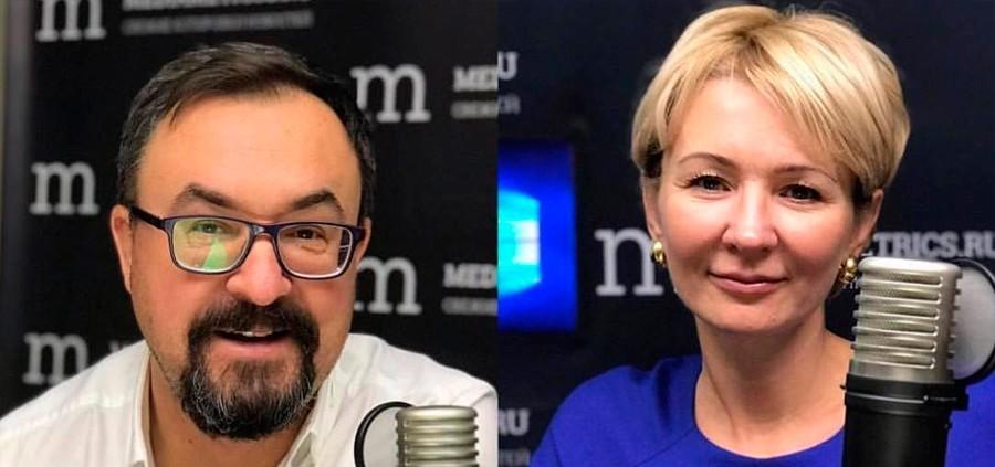 «Бизнес-завтрак»  с  Оксаной Телегиной  на  радио  Mediametrics
